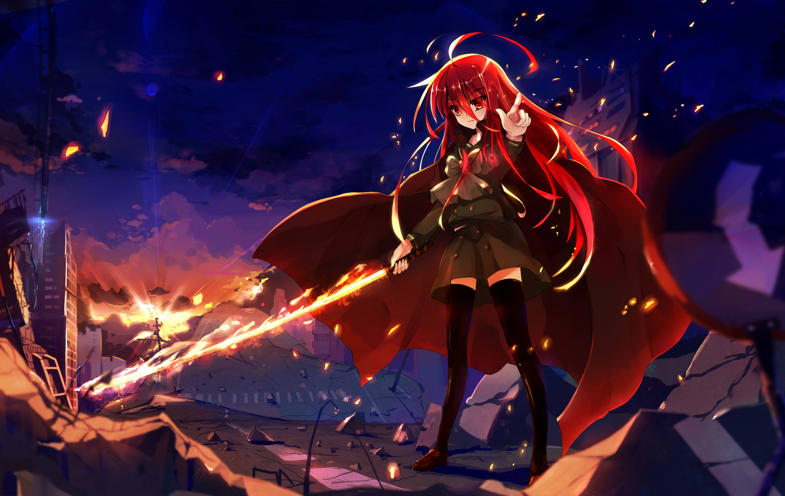 Shakugan No Shana Full HD Wallpaper and Background | 3000x1897 ...