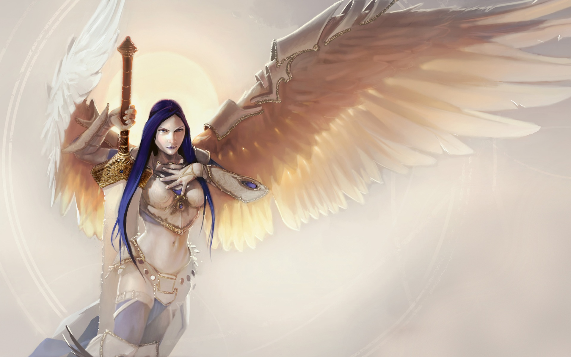 other wallpaper angel warrior - photo #9