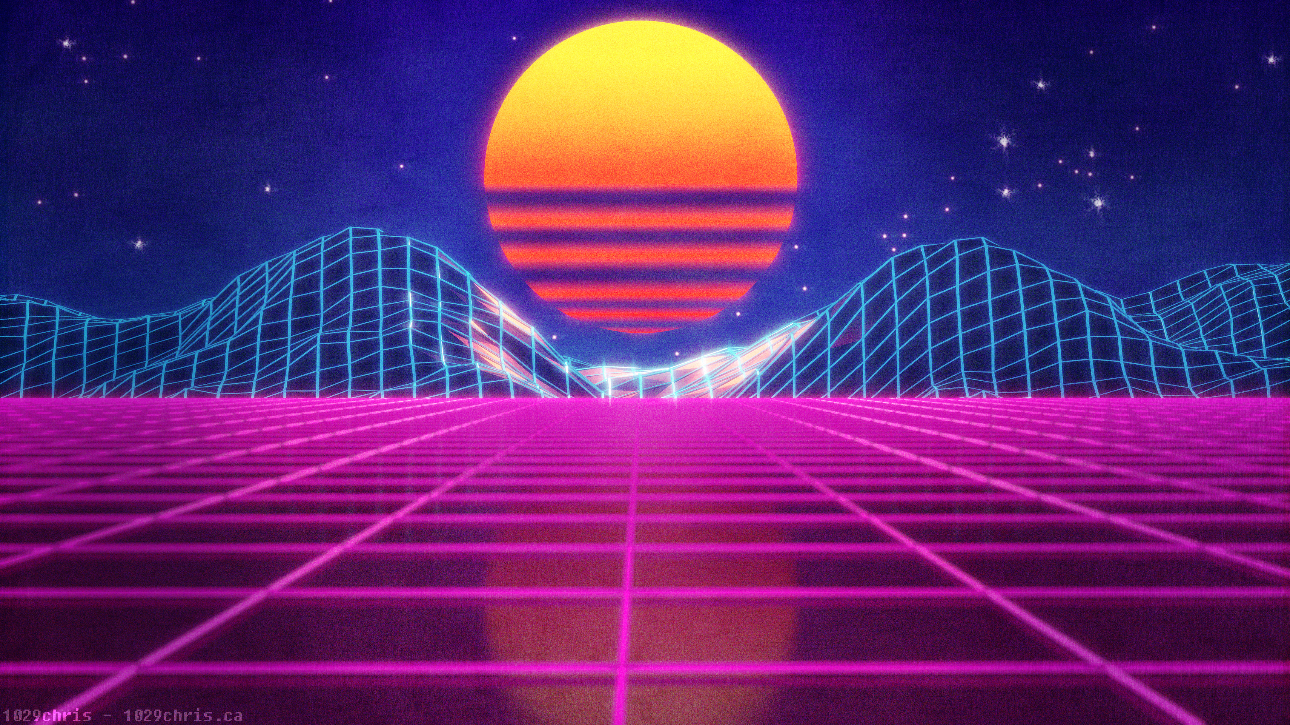 69 retro wave hd wallpapers | background images - wallpaper abyss