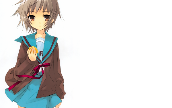 Anime The Melancholy Of Haruhi Suzumiya Yuki Nagato HD Wallpaper | Background Image