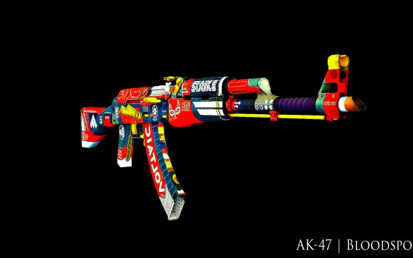 Video Game Counter-Strike: Global Offensive Counter-Strike AK-47 HD Wallpaper   Background Image