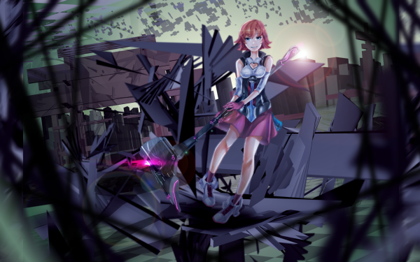 Anime RWBY Nora Valkyrie HD Wallpaper | Background Image
