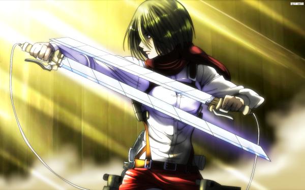 Anime Attack On Titan Mikasa Ackerman Shingeki No Kyojin HD Wallpaper | Background Image