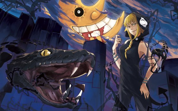 Anime Soul Eater Medusa Gorgon HD Wallpaper | Background Image