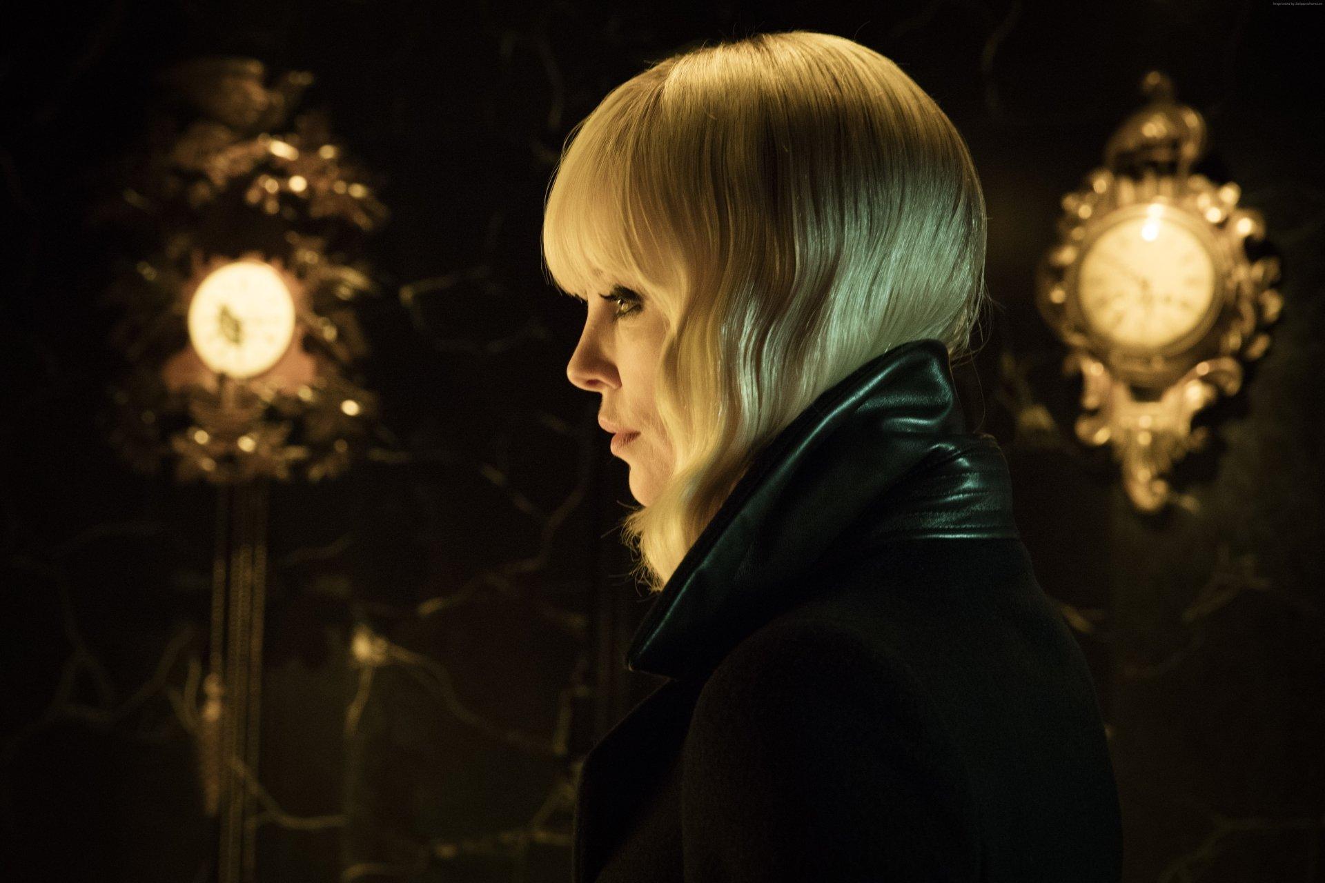 Movie - Atomic Blonde  Charlize Theron Wallpaper