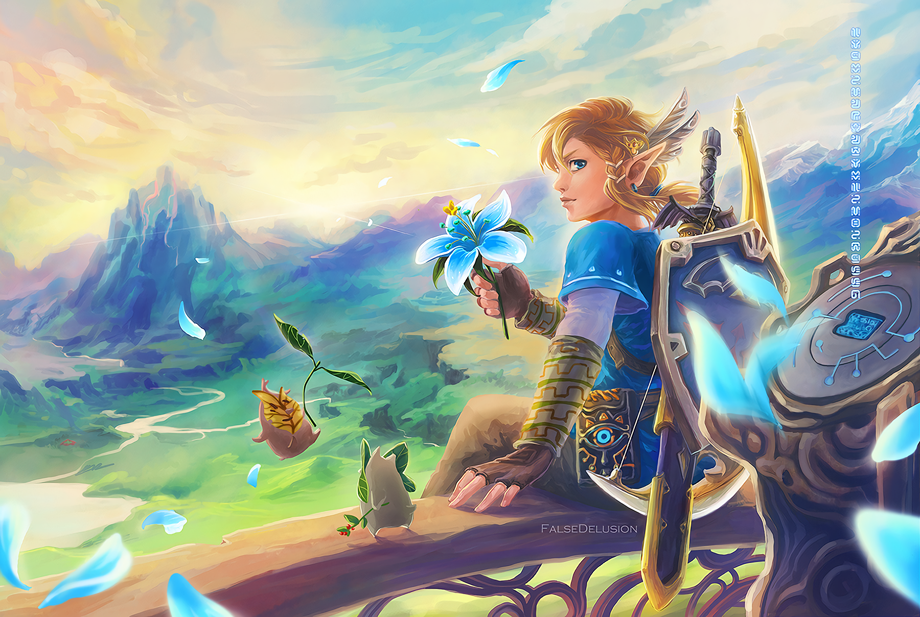 The Legend Of Zelda Breath Of The Wild Fondo De Pantalla