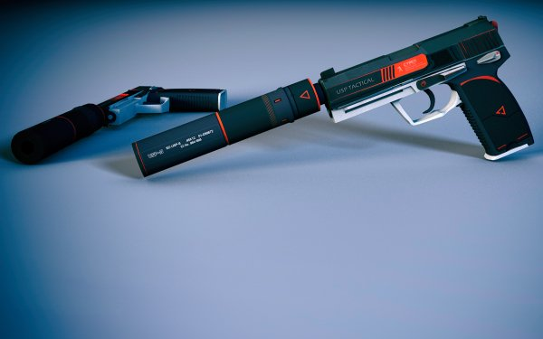 Video Game Counter-Strike: Global Offensive Counter-Strike USP-S HD Wallpaper   Background Image