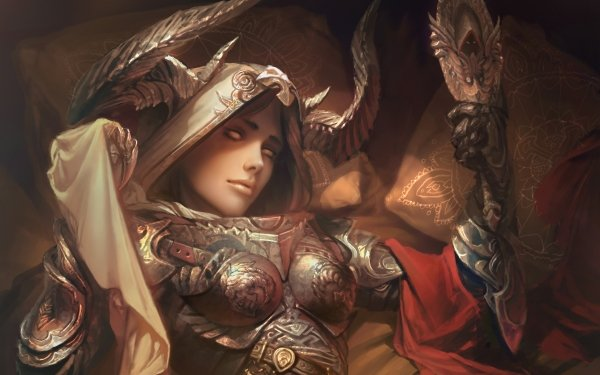 Video Game Diablo III Diablo Woman Warrior Demon Hunter Armor HD Wallpaper   Background Image