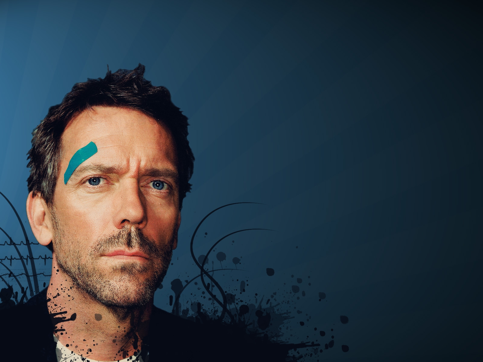 TV Show - House  Hugh Laurie Dr. Gregory House Wallpaper