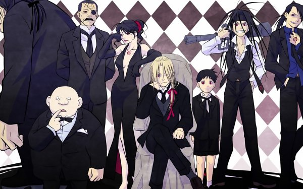 Anime FullMetal Alchemist Fullmetal Alchemist Father Lust Pride Greed Gluttony Sloth Envy Wrath HD Wallpaper | Background Image