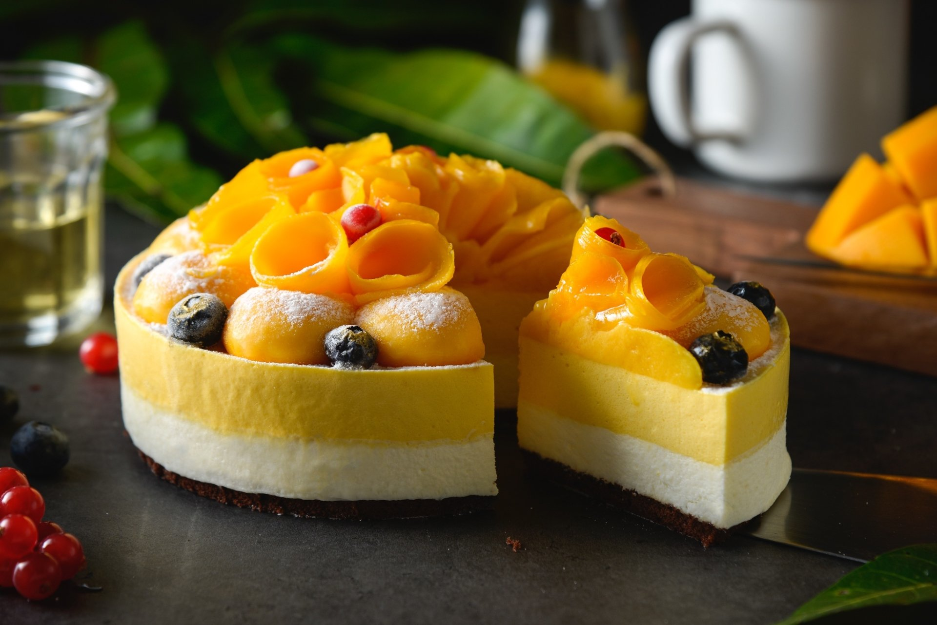 Food - Cake  Pastry Dessert Still Life Fruit Wallpaper