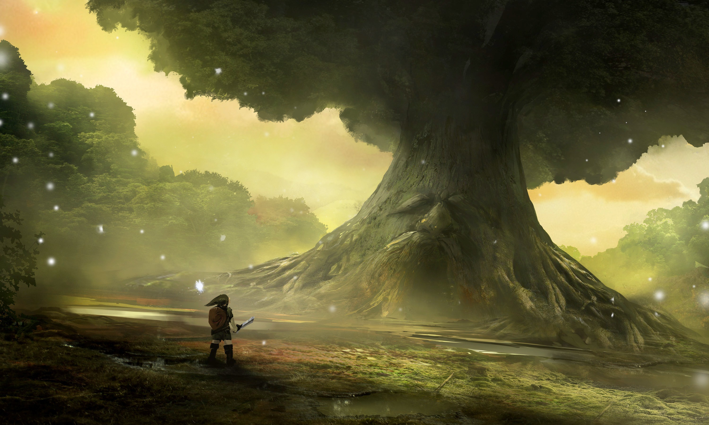 The Legend Of Zelda Ocarina Of Time Hd Wallpaper Background