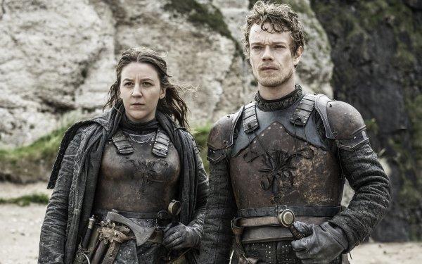 TV Show Game Of Thrones Theon Greyjoy Alfie Allen Yara Greyjoy Gemma Whelan HD Wallpaper   Background Image