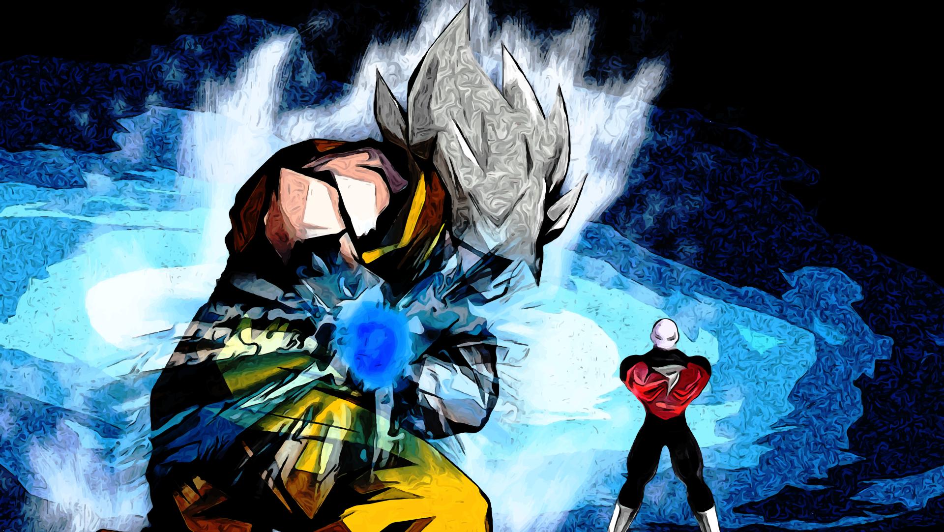 Goku vs jiren 8k ultra hd fond d 39 cran and arri re plan for Fond ecran goku