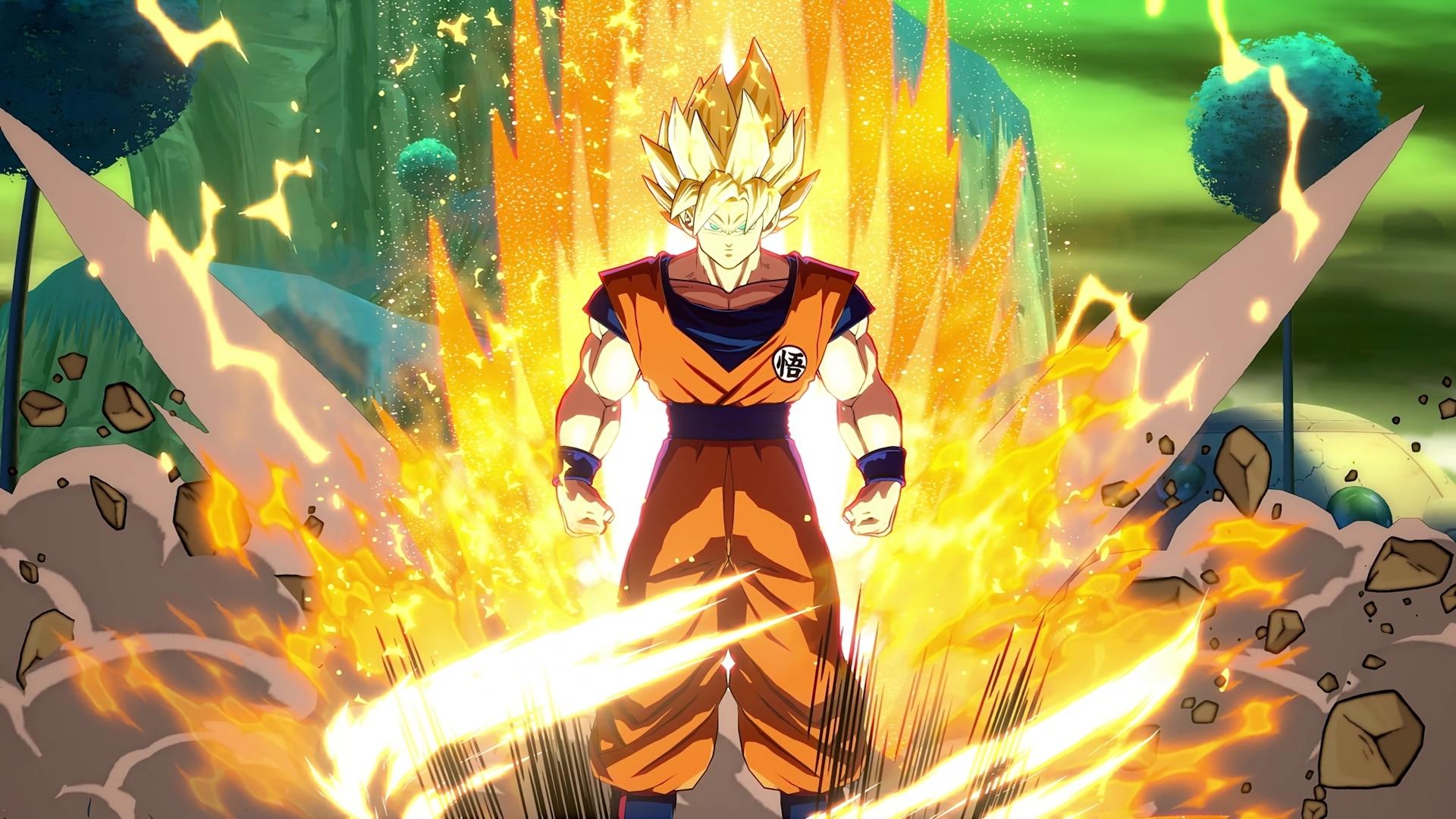Goku HD Wallpaper | Background Image | 1920x1080 | ID ...