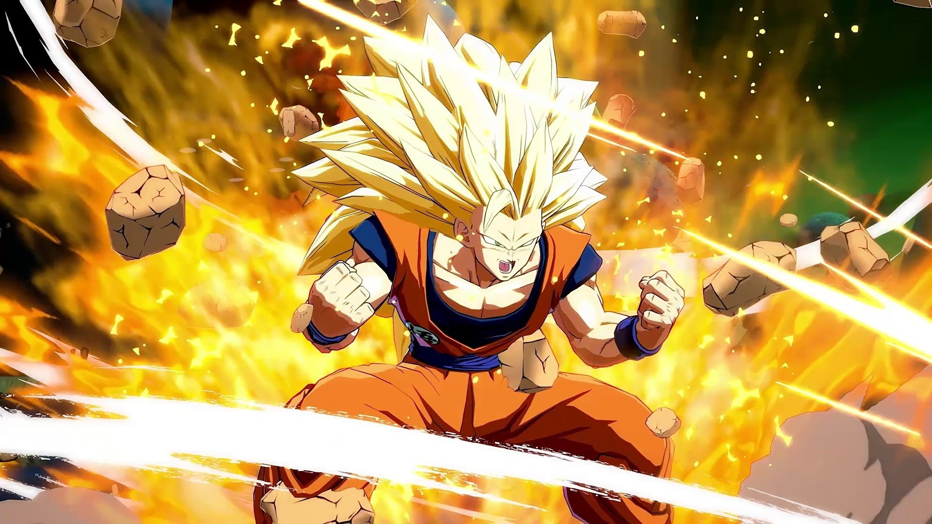 Super Saiyan 3 HD Wallpaper