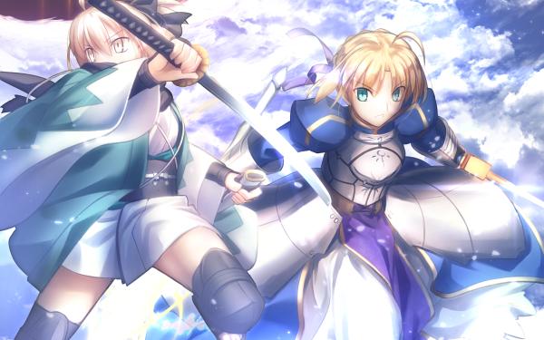 Anime Fate/Grand Order Fate Series Sakura Saber Saber HD Wallpaper | Background Image