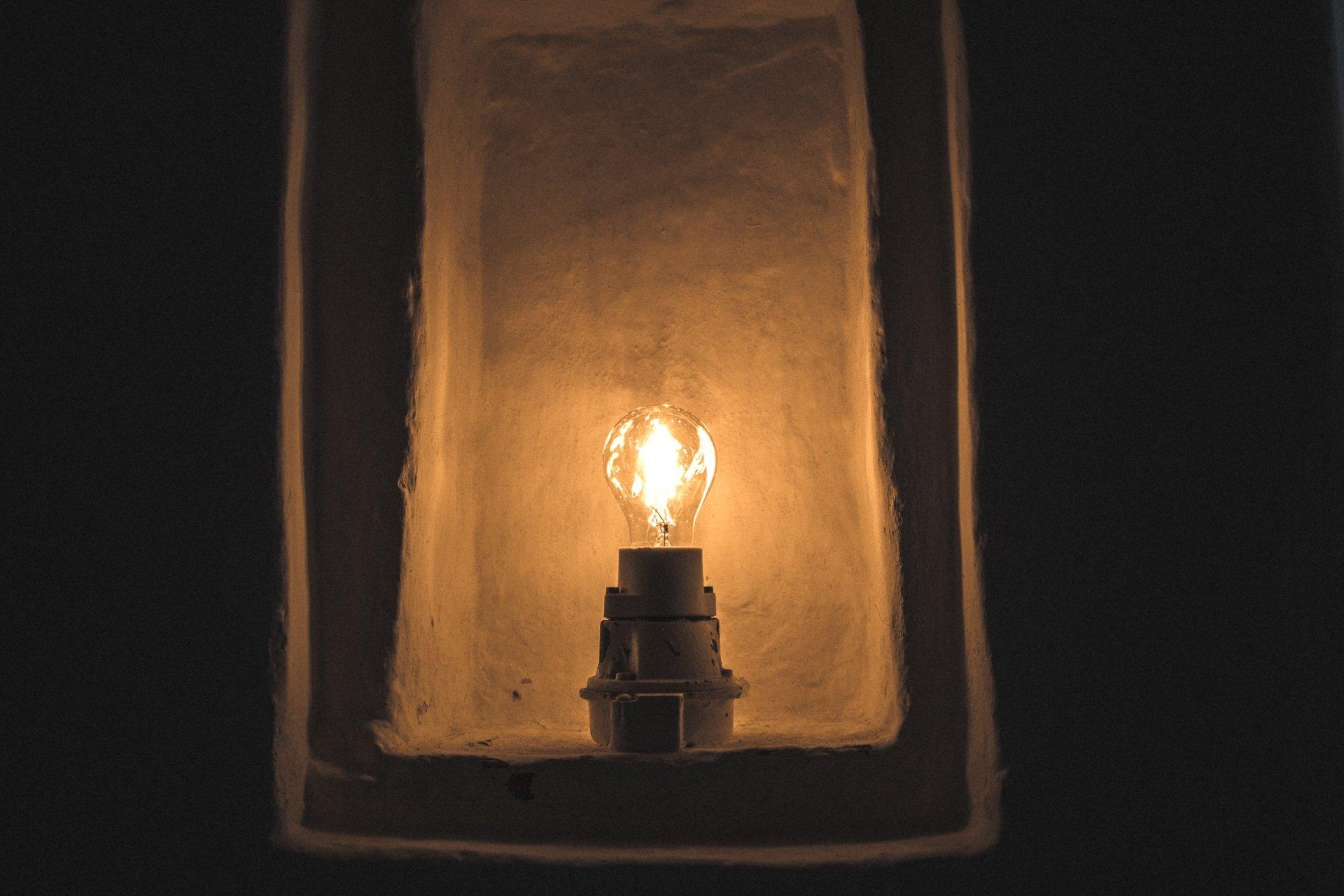 Man Made - Light Bulb  Wallpaper