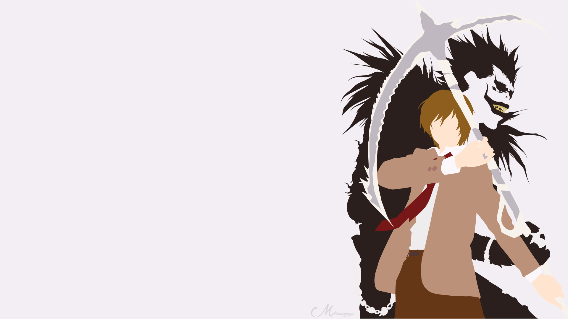 light and ryuk wallpaper - photo #19