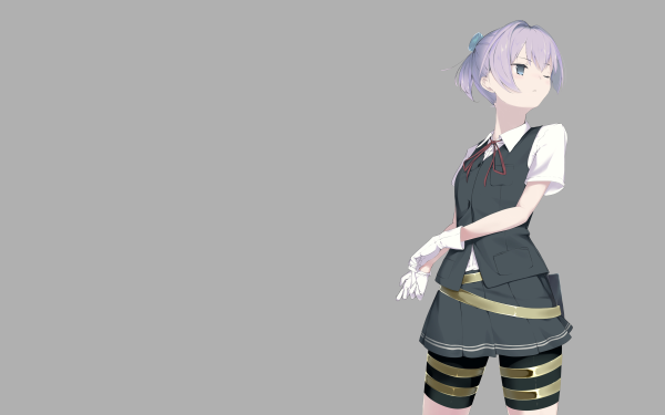 Anime Kantai Collection Shiranui HD Wallpaper   Background Image