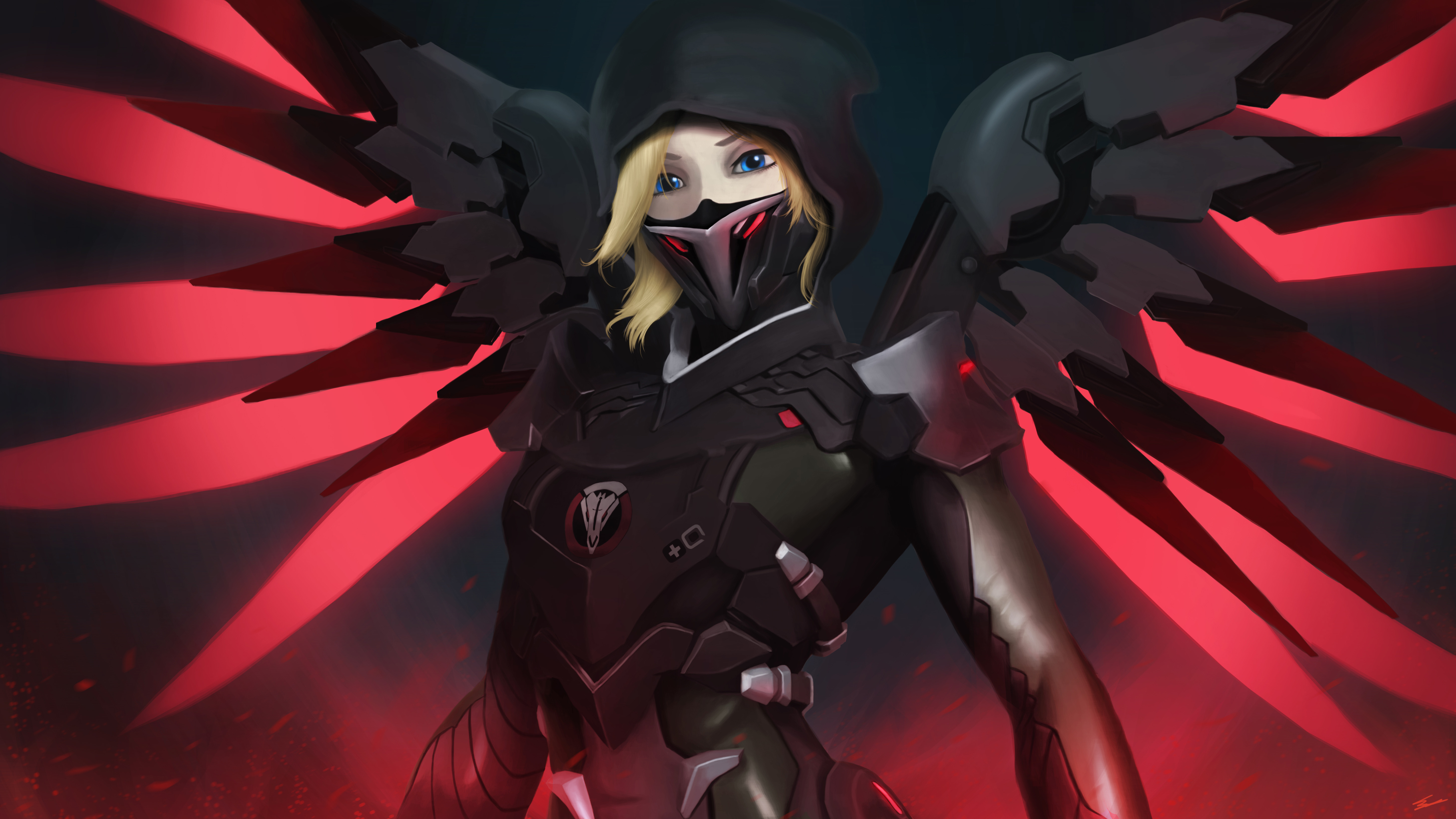 71 4k Ultra Hd Mercy Overwatch Wallpapers Background