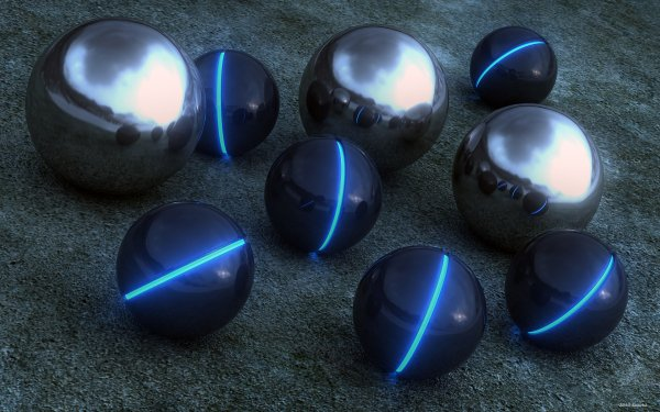 Abstract Ball CGI Sphere 3D HD Wallpaper | Background Image