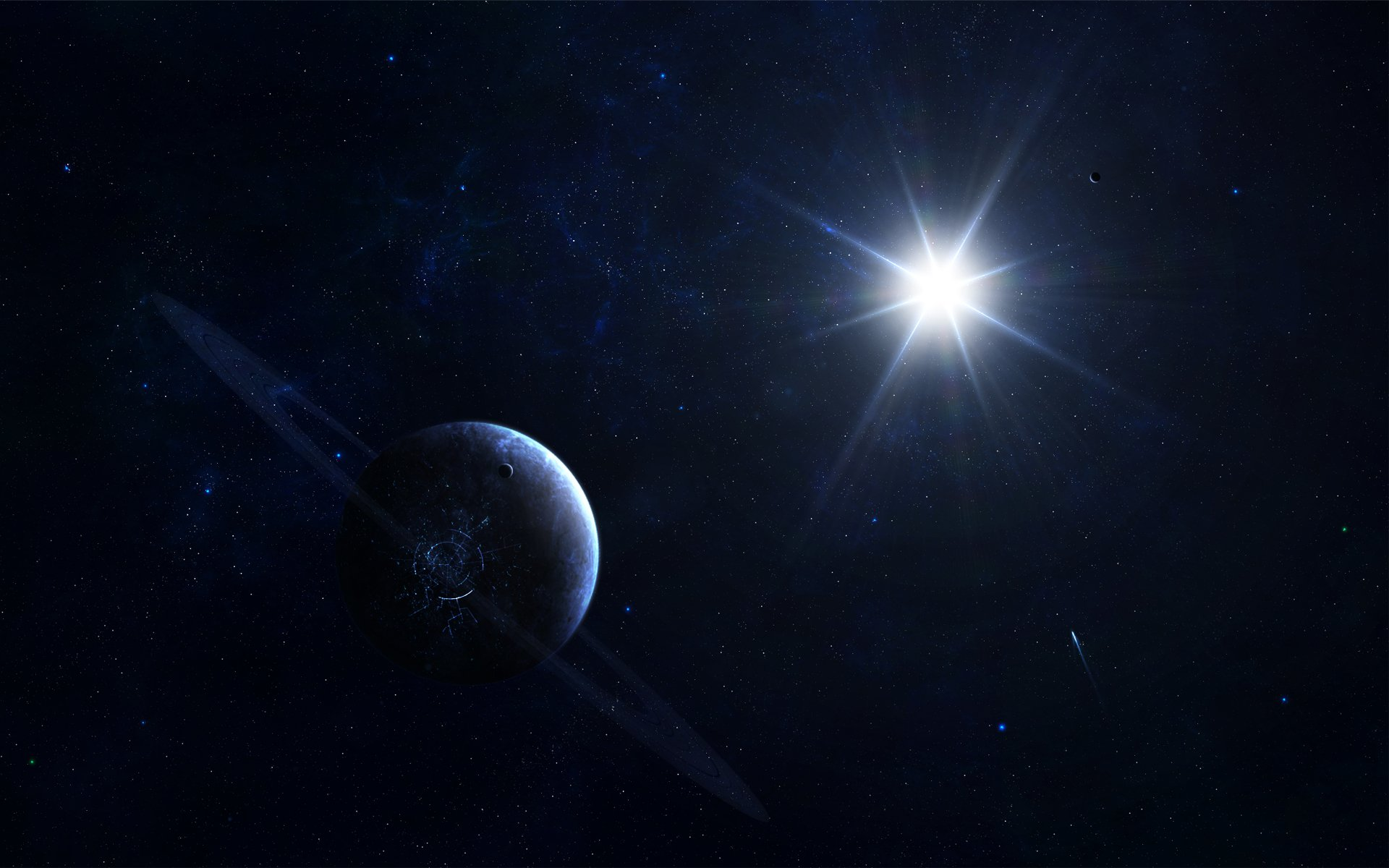 Sci Fi - Planets  Planet Stars Sci Fi Space Wallpaper