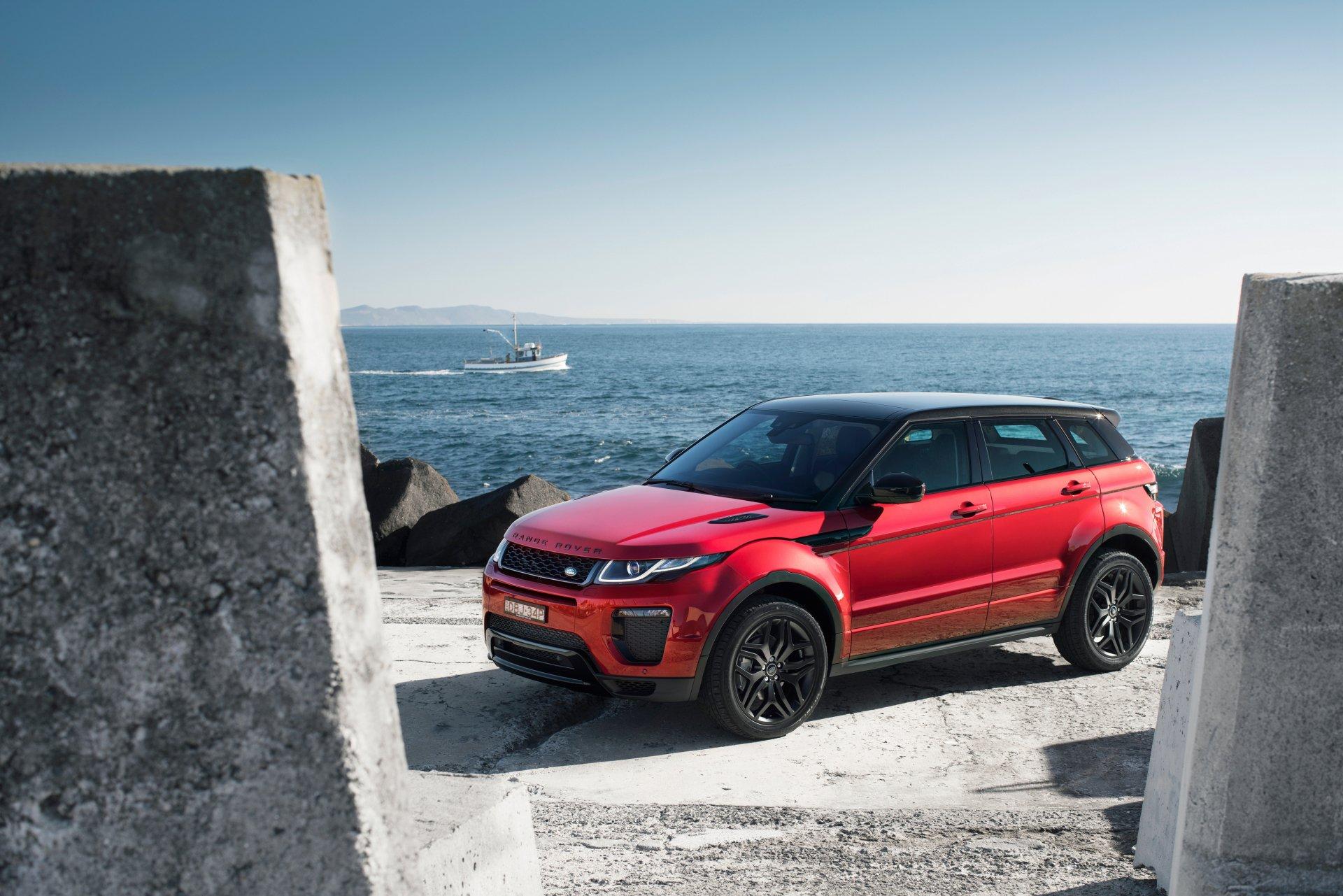 Vehicles - Range Rover Evoque  Range Rover Car Vehicle Red Car SUV Luxury Car Wallpaper