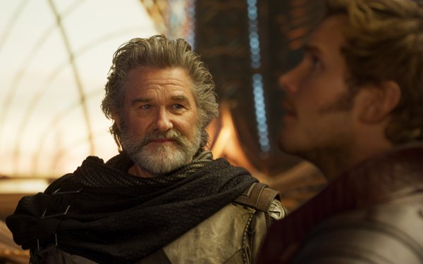 Movie Guardians of the Galaxy Vol. 2 Chris Pratt Star Lord Kurt Russell Ego HD Wallpaper | Background Image