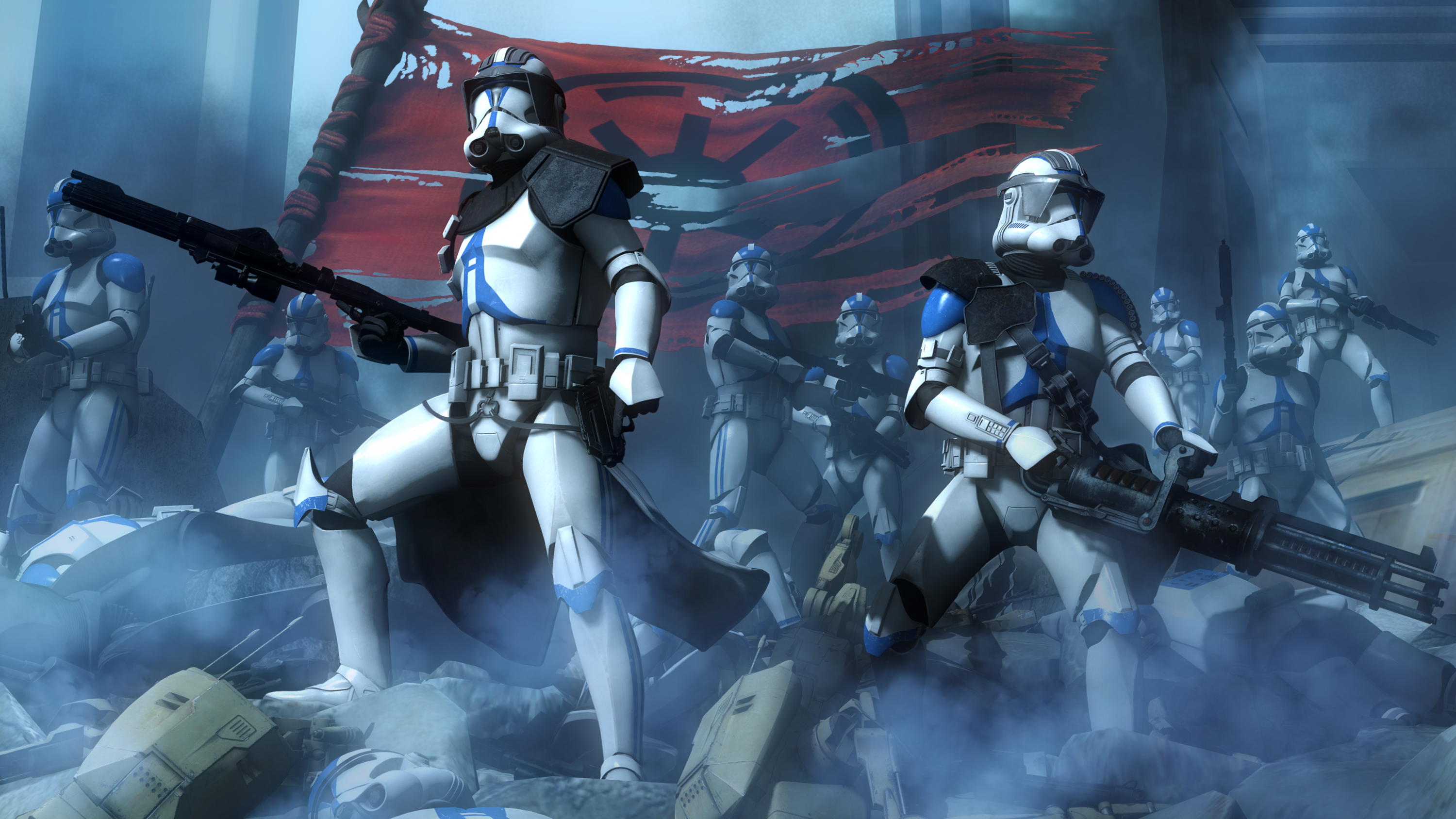 9 Star Wars The Clone Wars Hd Wallpapers Background Images Wallpaper Abyss