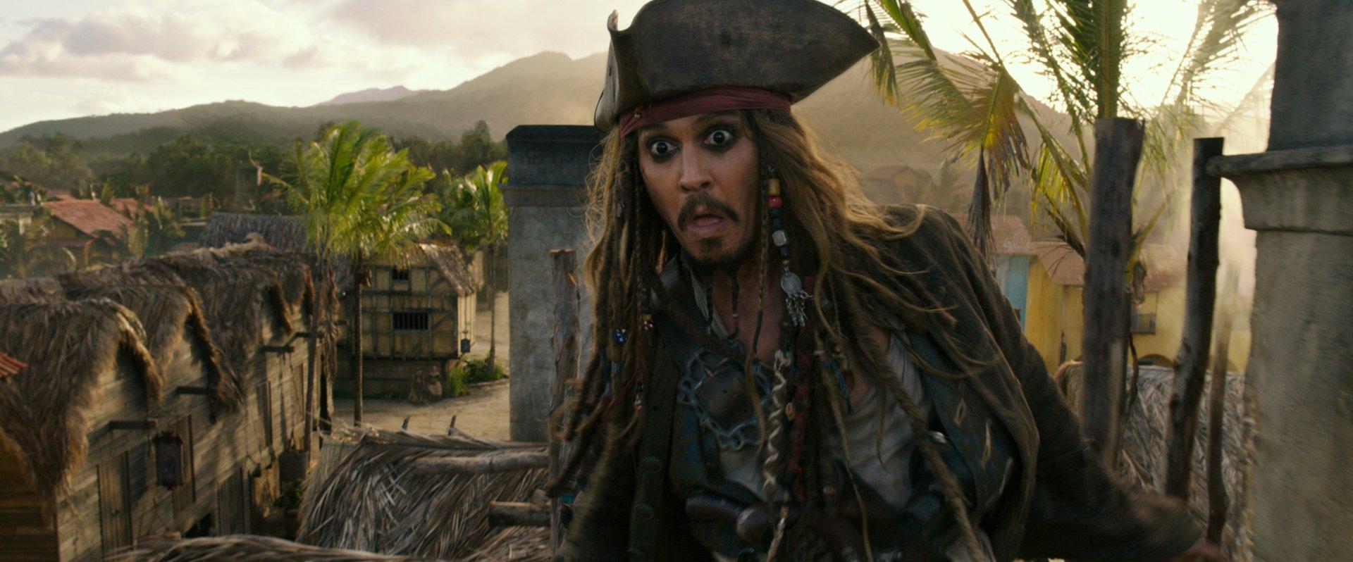 电影 - 加勒比海盗5:死无对证  约翰尼·德普 Jack Sparrow 壁纸