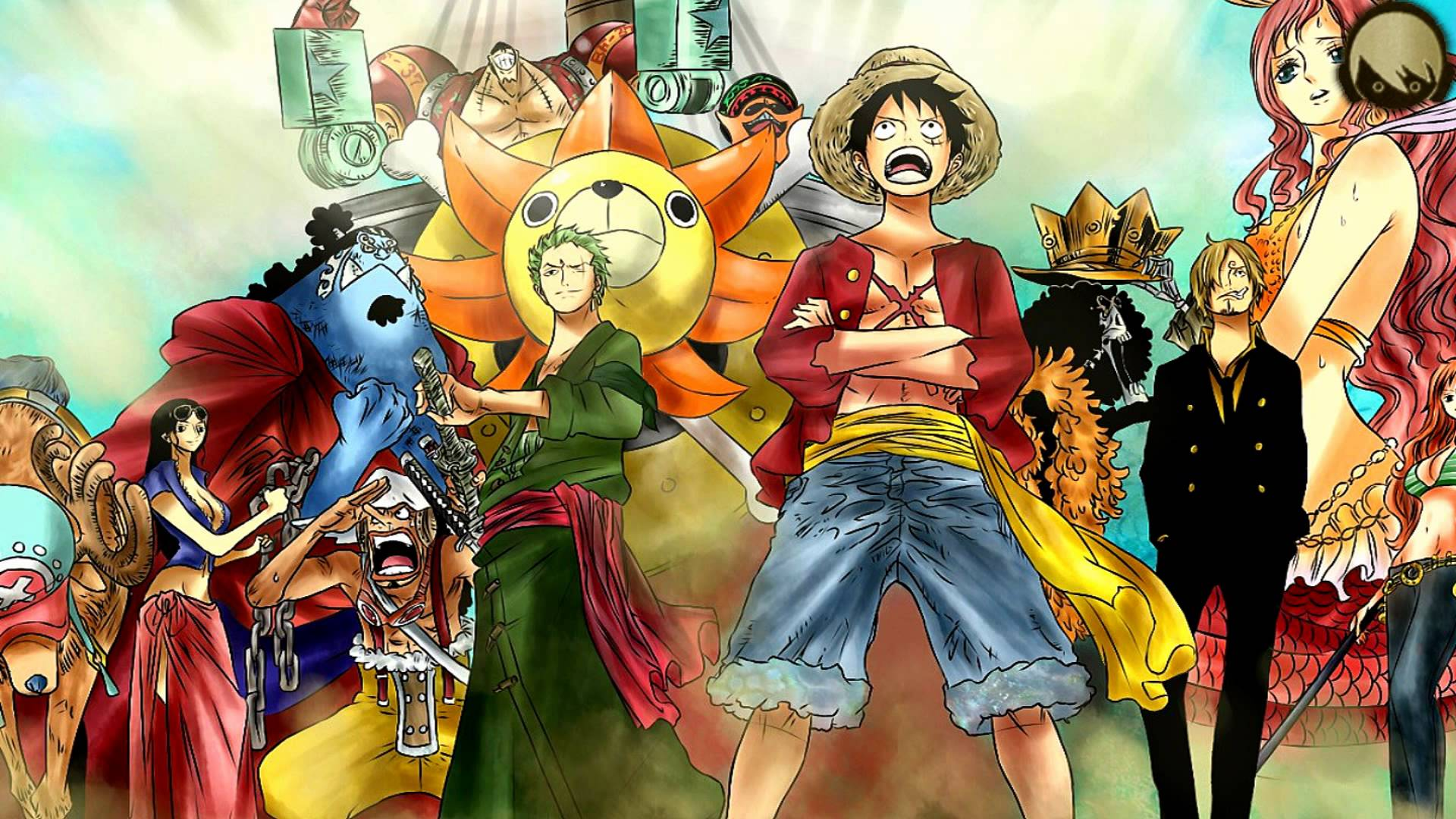 The Straw Hat Crew Full HD Wallpaper And Background Image