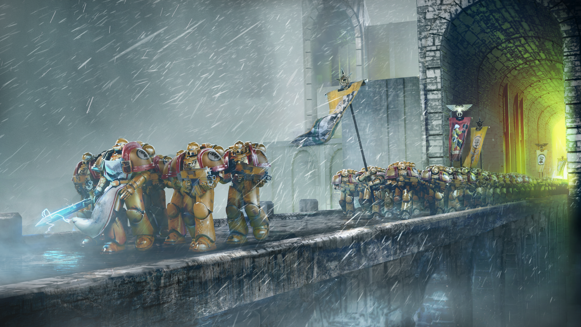 Warhammer 40k Hd Wallpaper Background Image 1920x1080 Id