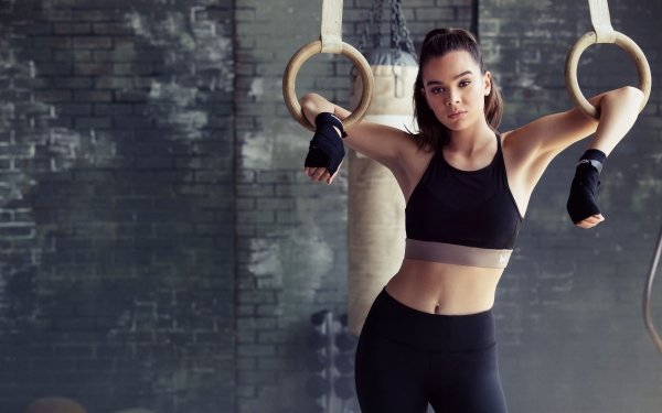 Celebrity Hailee Steinfeld Actresses United States American Brunette Actress Fitness HD Wallpaper   Background Image
