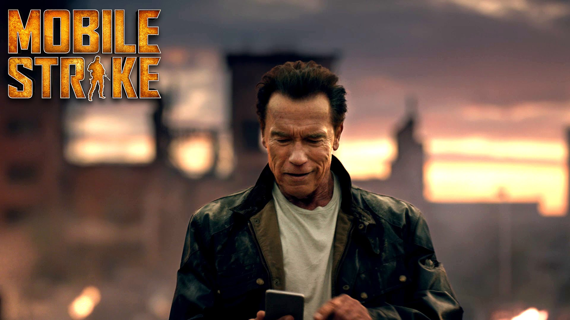 Mobile game commercial - Video Game Mobile Strike Arnold Schwarzenegger Wallpaper