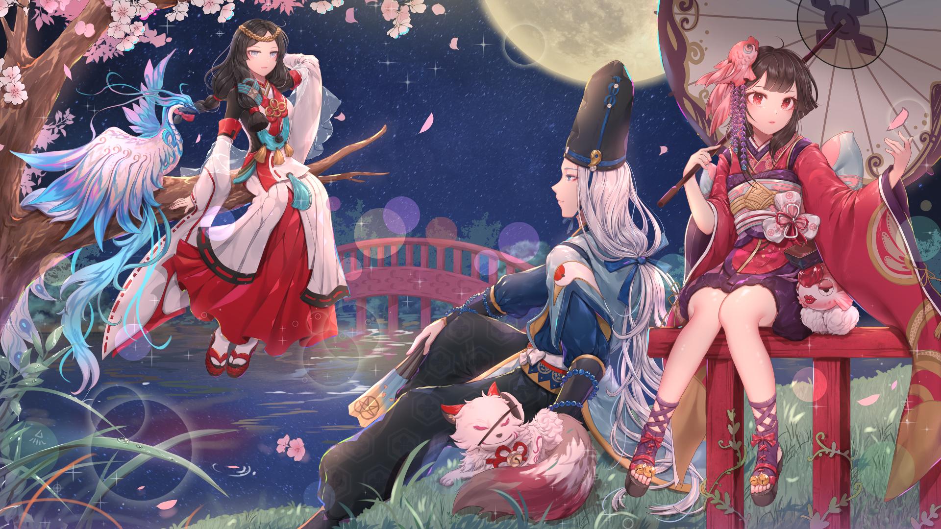 Onmyouji A Sub Gallery By Ryuzu Wallpaper Abyss
