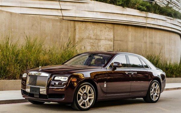 Véhicules Rolls-Royce Ghost Rolls Royce Rolls-Royce Voiture Black Car Luxury Car Fond d'écran HD   Image
