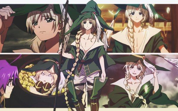 Anime Magi: The Labyrinth Of Magic Yunan HD Wallpaper | Background Image