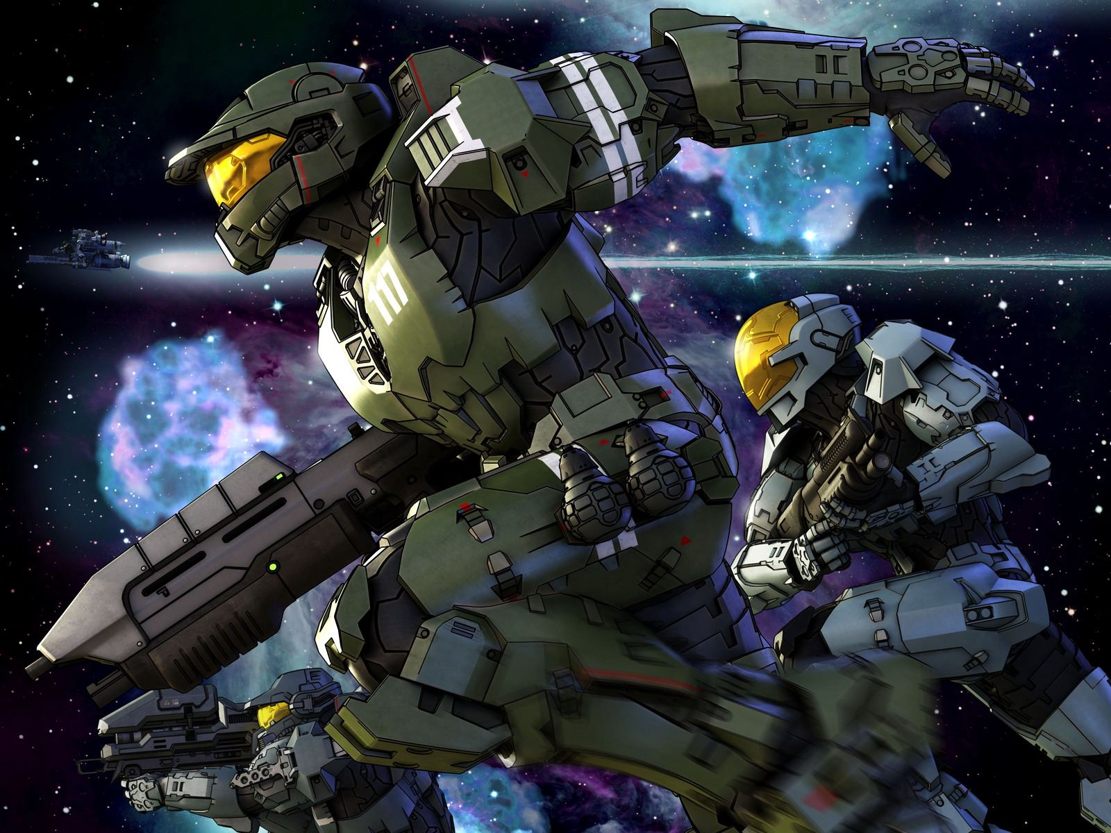 Halo Legends Wallpaper And Background Image 1600x1200 Id 86322
