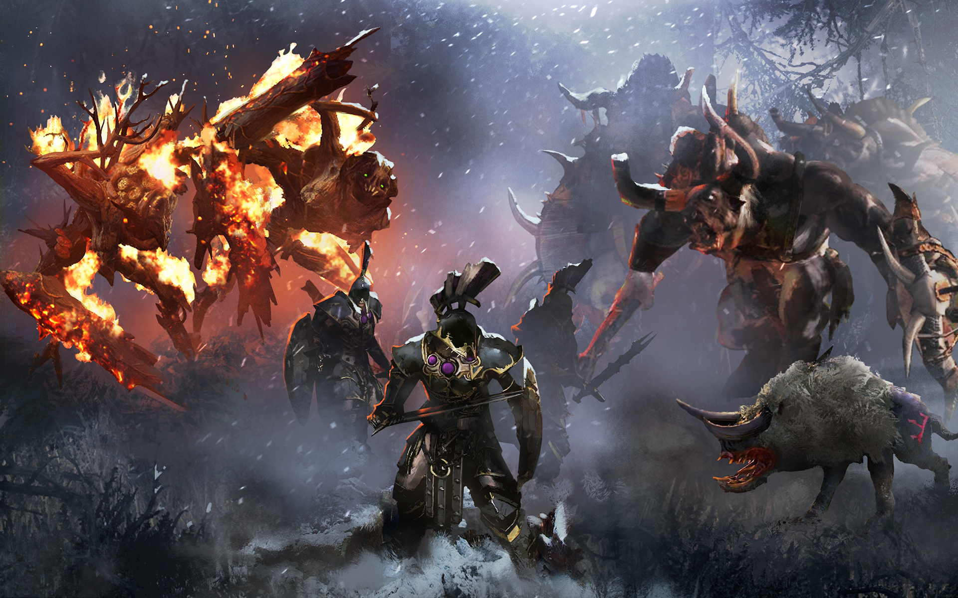6 Norsca Total War Warhammer Hd Wallpapers Background Images