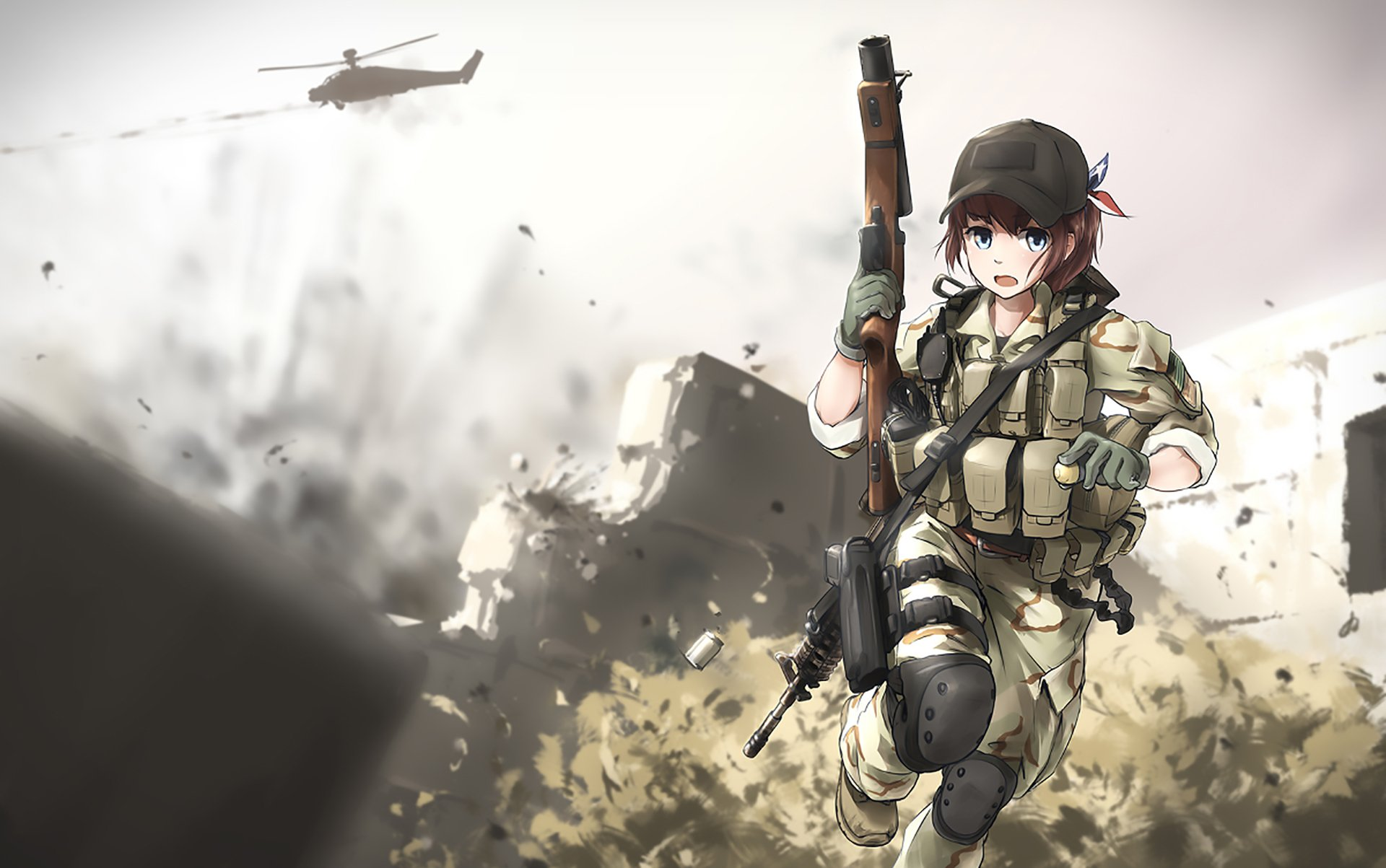Original hd wallpaper background image 1920x1203 id - Anime war wallpaper ...