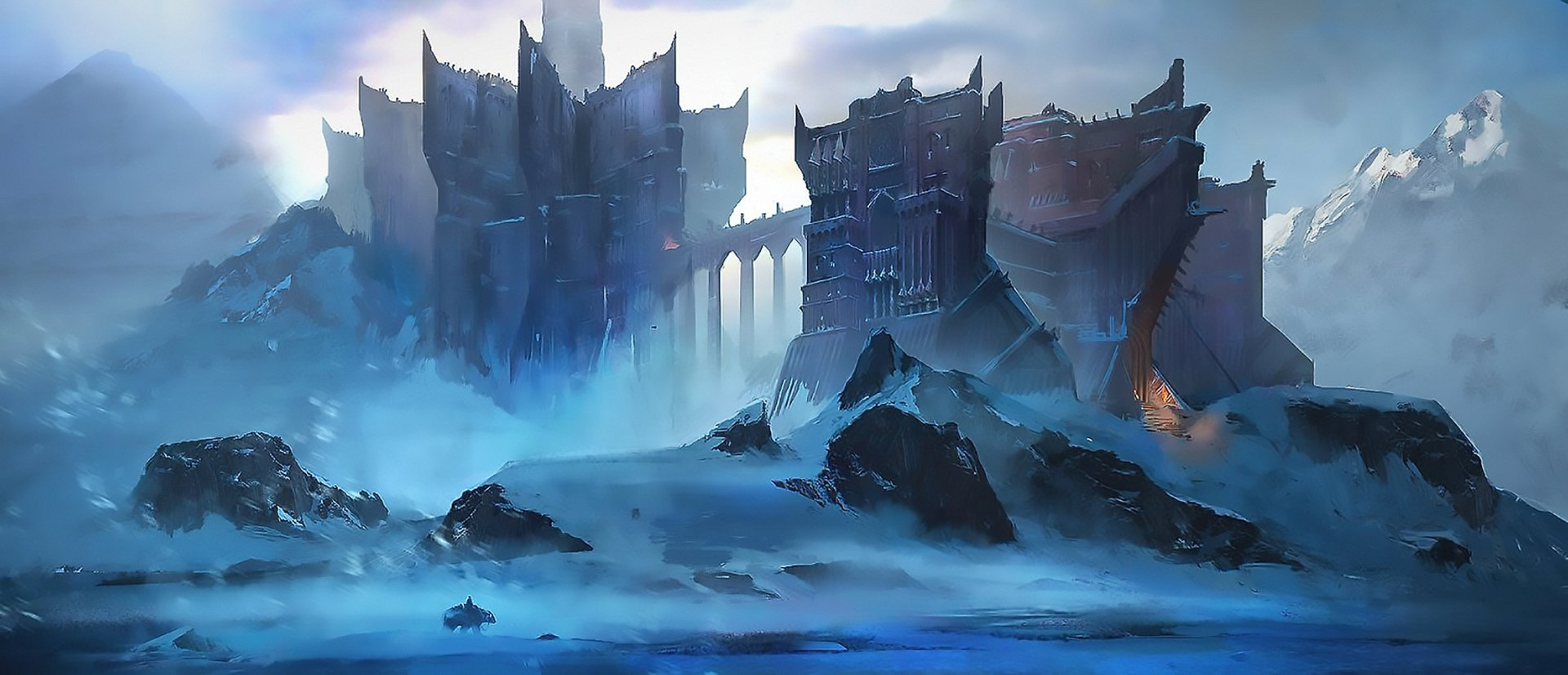 Fantasy - Castle  Ice Wallpaper