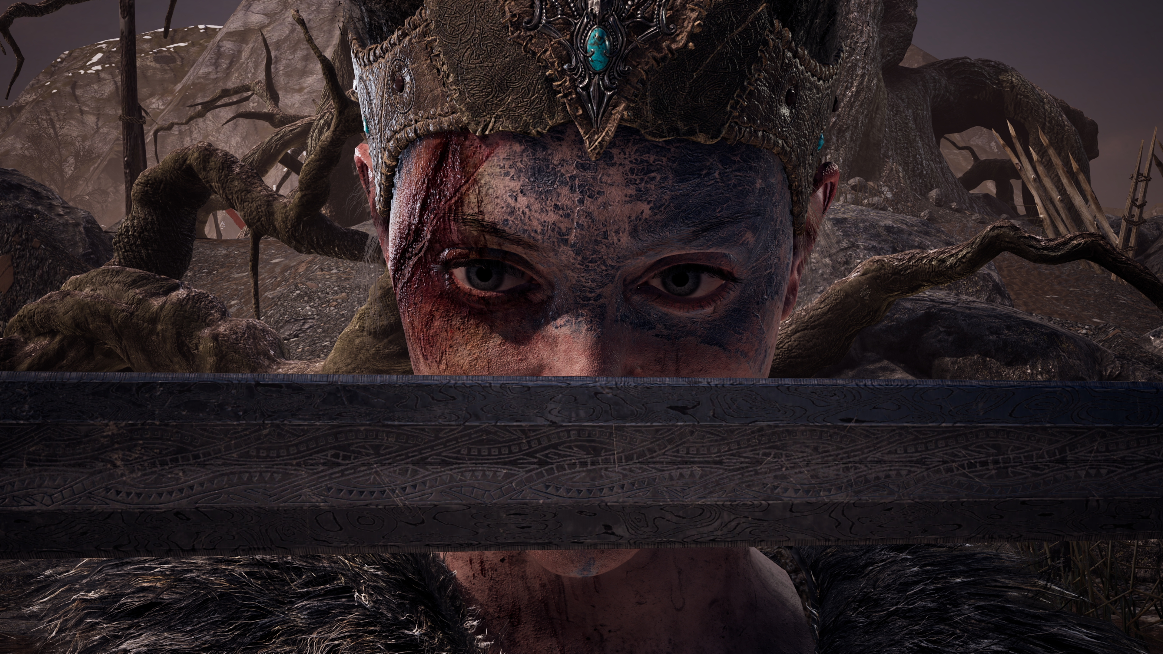 Hellblade senuas sacrifice 4k ultra hd wallpaper background image 3840x2160 id 866158 - Sacrifice wallpaper ...