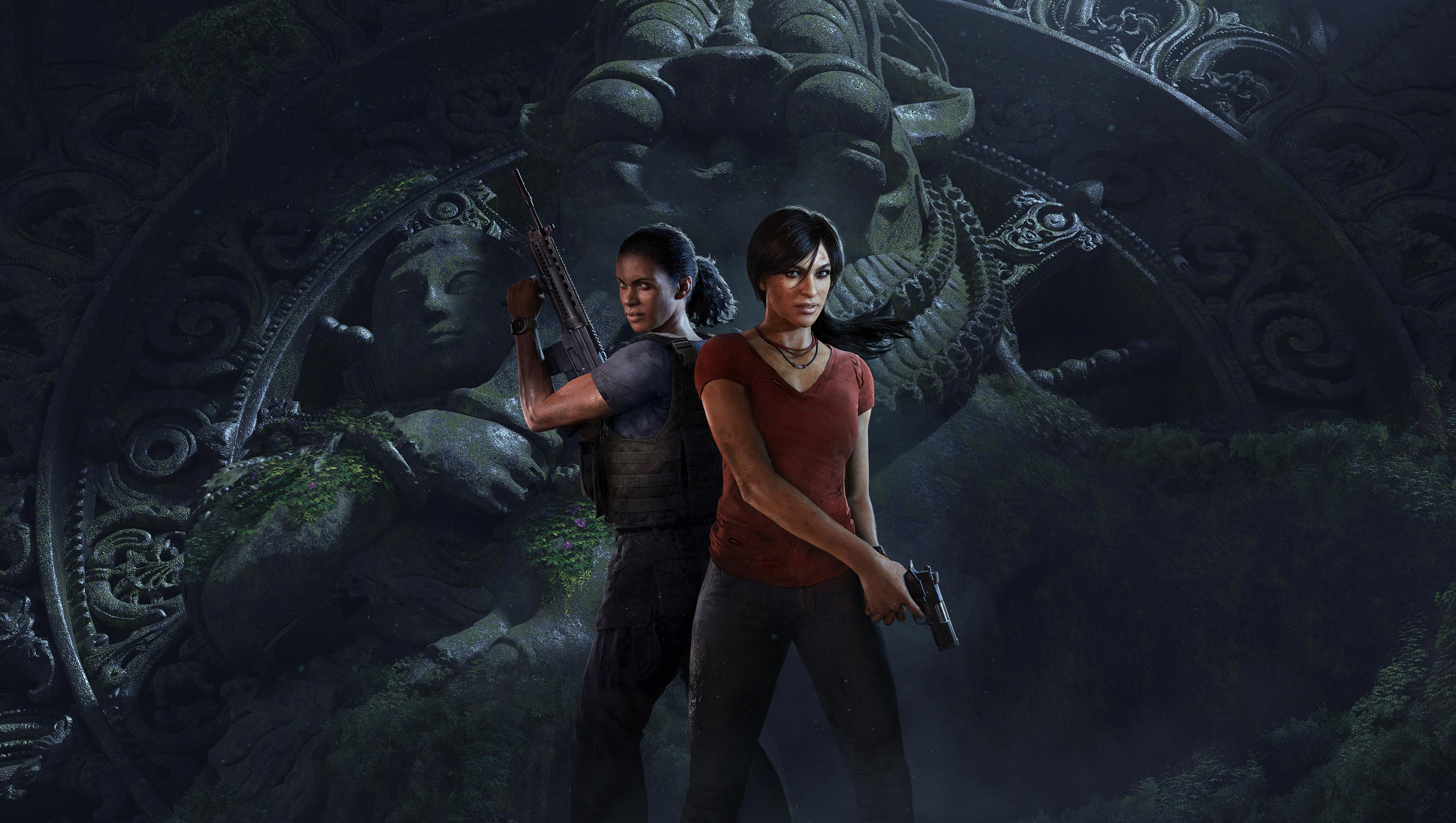 Uncharted the lost legacy hd wallpaper background image 3820x2160 id 866595 wallpaper abyss - Legacy wallpaper ...