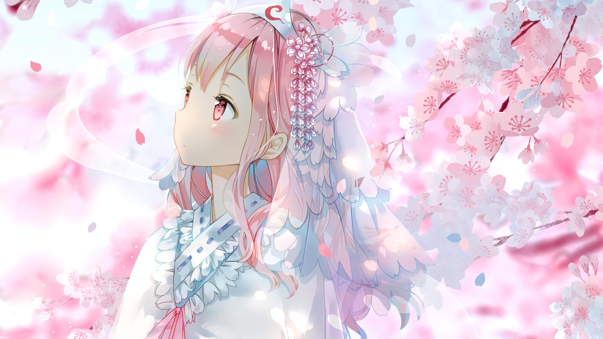 touhou princess hd wallpaper | background image | 1920x1080 | id