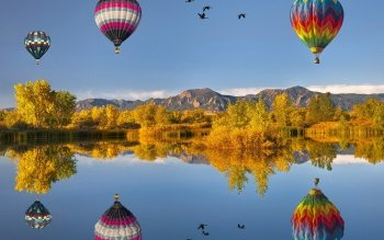 Vehicles - Hot Air Balloon Wallpapers and Backgrounds ID : 86940
