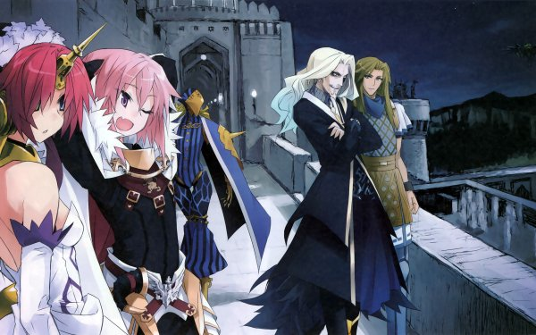 Anime Fate/Apocrypha Fate Series Archer of Black Berserker of Black Caster of Black Lancer of Black Rider of Black HD Wallpaper | Background Image