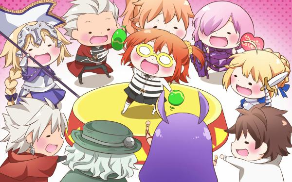 Anime Fate/Grand Order Fate Series Fujimaru Ritsuka Ruler Archer Saber Shielder Shirou Kotomine Nitocris HD Wallpaper | Background Image