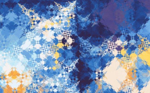 Abstract Fractal Artistic Blue Digital Art HD Wallpaper | Background Image