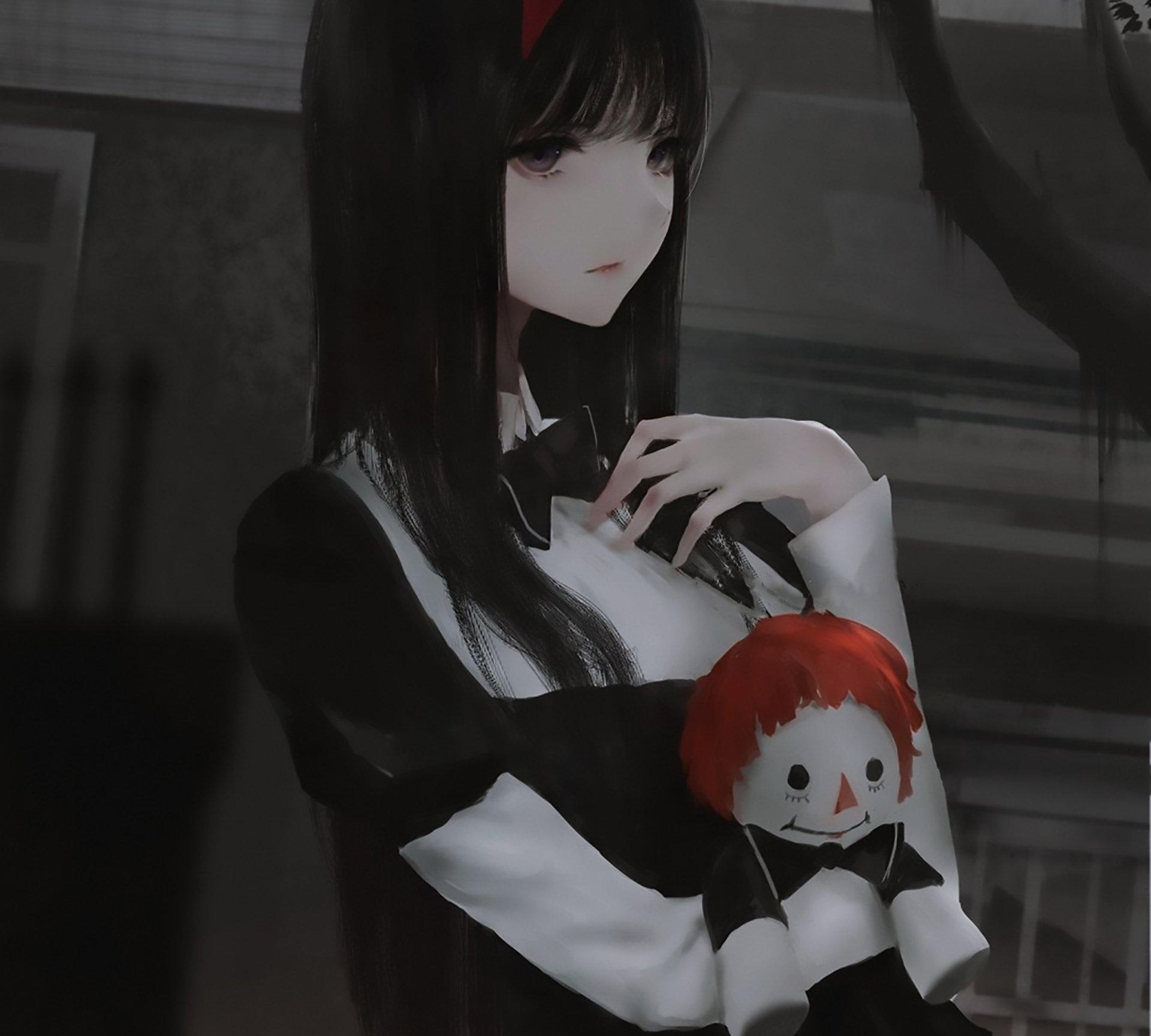 动漫 - 原创  女孩 洋娃娃 壁纸